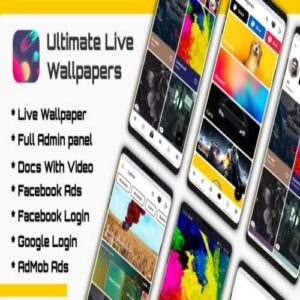 Ultimate Live Wallpapers Application (GIFVideoImage)