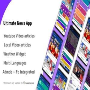 Ultimate News App (Video,Youtube,Weather,Survey) free download