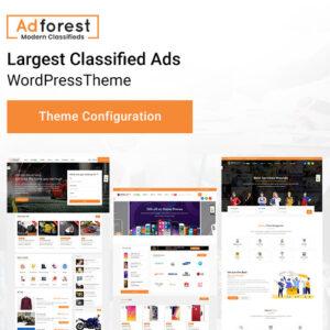 AdForest – Classified Ads WordPress Theme Directory Listing
